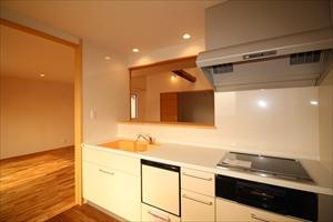 IH 2階キッチン LDK