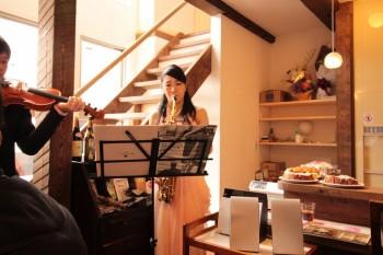 フルート、バイオリン、優しい音色、