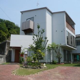 広島市東区 新築施工例 D・Uコダ かわいい 外観