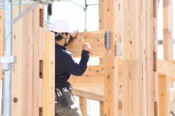 新築工事 棟上げ 住宅 広島市 注文住宅 広島