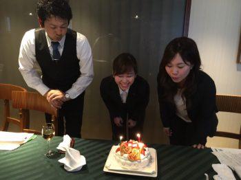 おめでとう 誕生日ケーキ